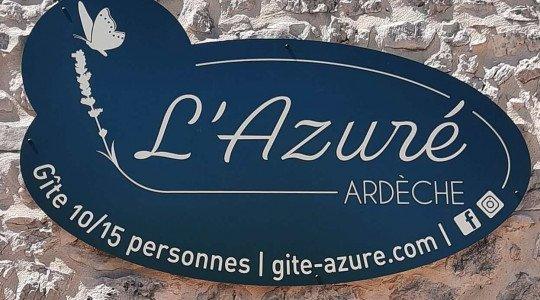 Gîte de l'Azuré